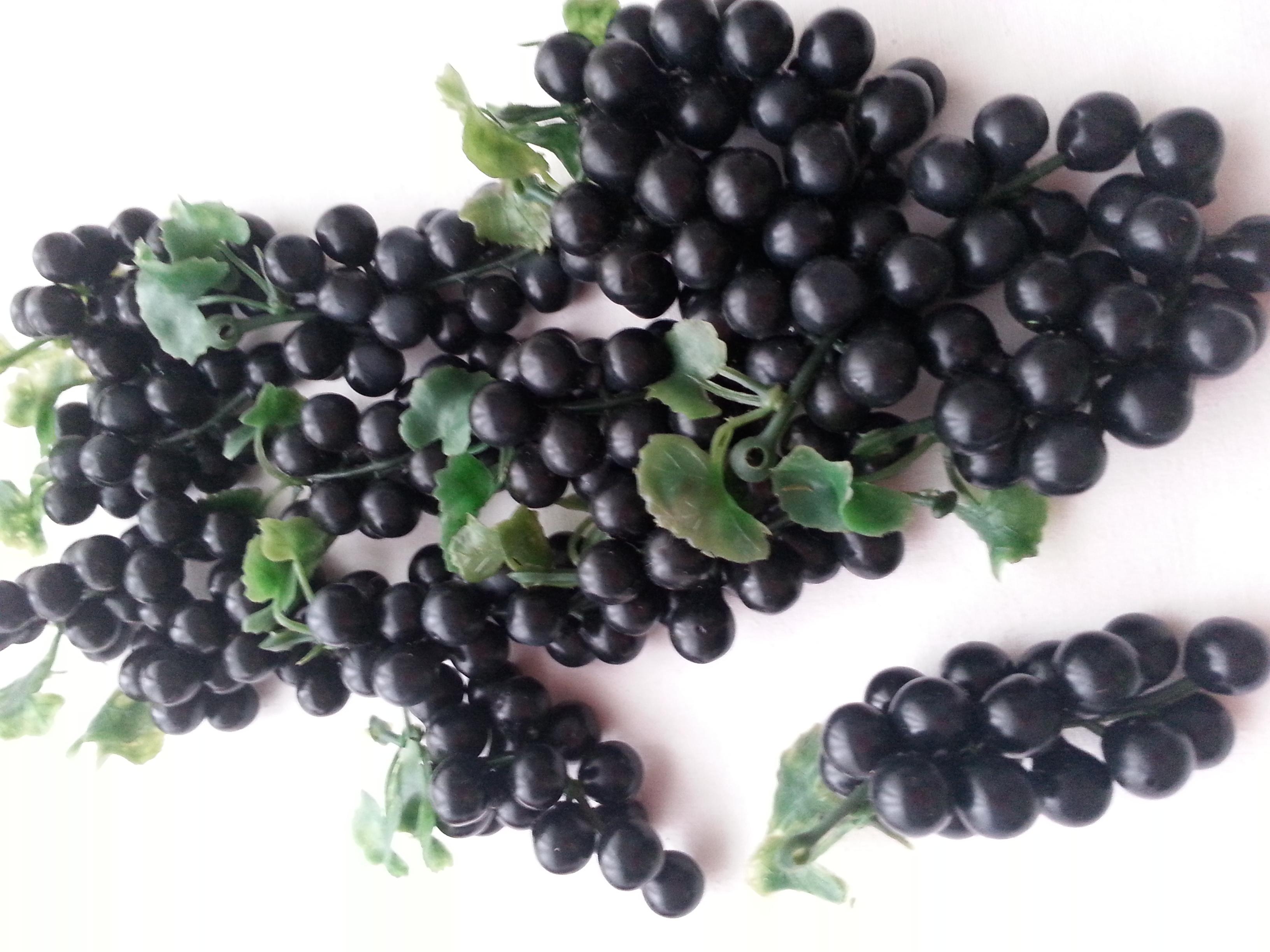 künstliche Weintrauben