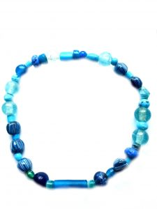 Halskette,Glasperlen