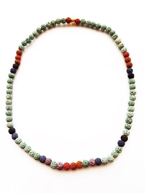 Halskette,Lava